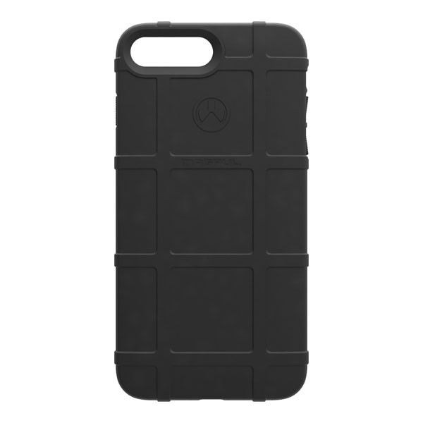 Apple iPhone 8 Plus / 7 Plus / 6S Plus / 6 Plus Case, [Magpul] Field Series Premium Protective Rugged Strong TPU Case [Black]