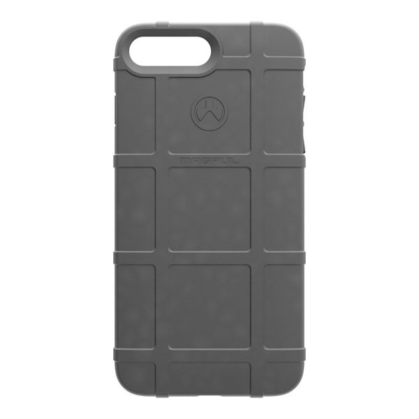 Apple iPhone 8 Plus / 7 Plus / 6S Plus / 6 Plus Case, [Magpul] Field Series Premium Protective Rugged Strong TPU Case [Gray]