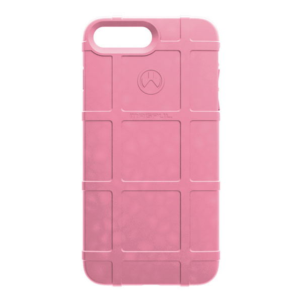Apple iPhone 8 Plus / 7 Plus / 6S Plus / 6 Plus Case, [Magpul] Field Series Premium Protective Rugged Strong TPU Case [Baby Pink]
