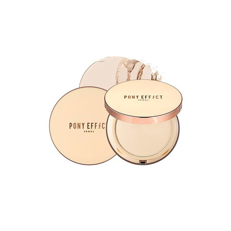 PONY EFFECT SKIN FIT POWDER PACT #ROSY IVORY