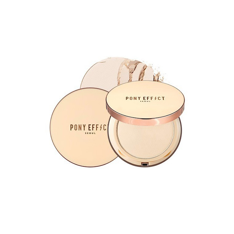 PONY EFFECT SKIN FIT POWDER PACT #ROSY BEIGE