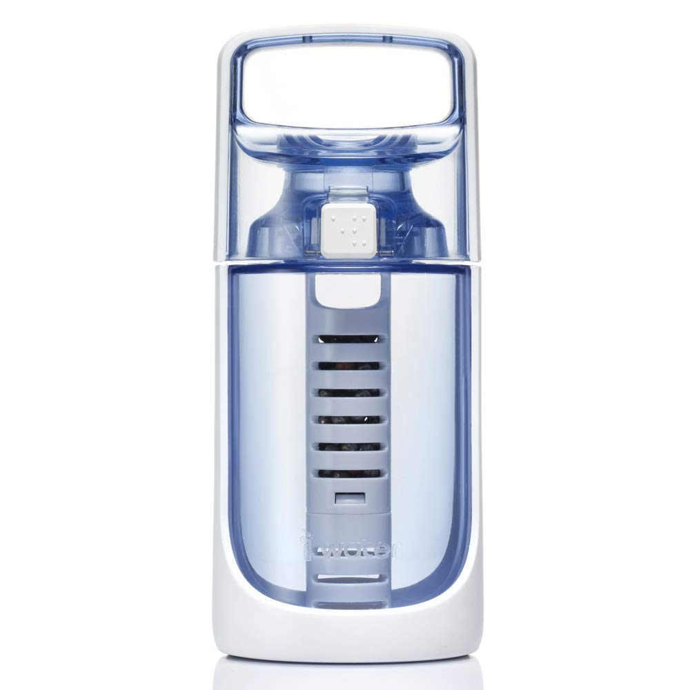 BM Classic Mini 380 Alkaline Hydrogen Ionizer Bottle [380 ml/Blue]