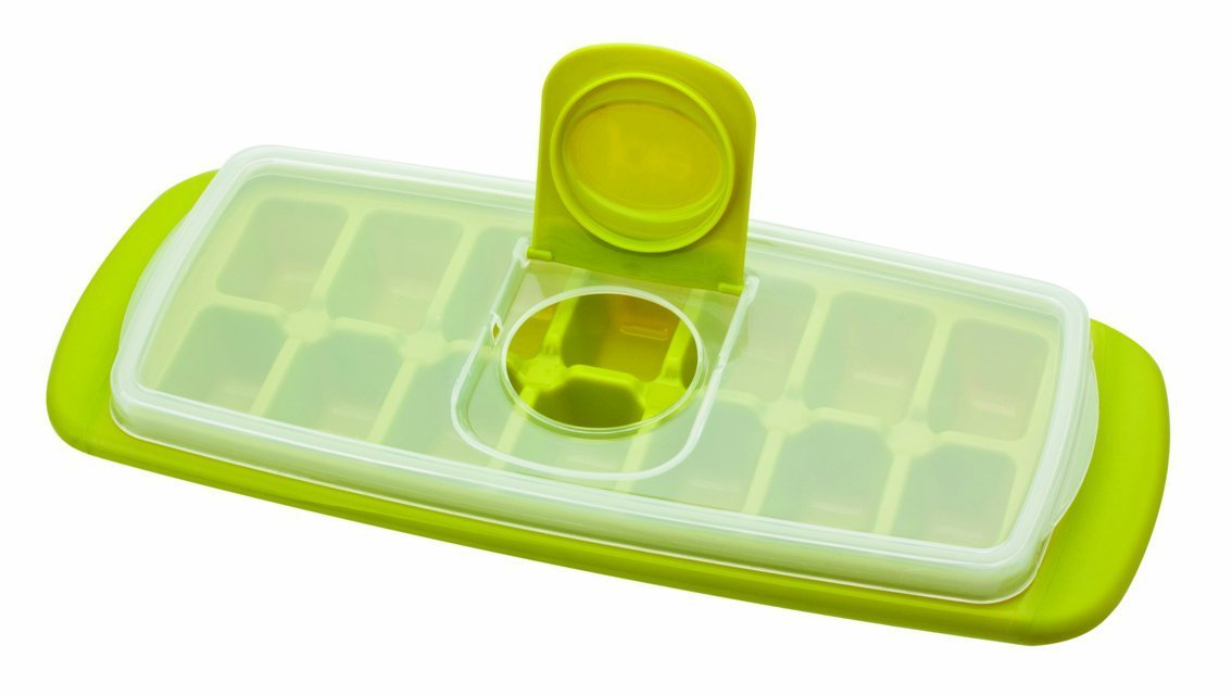 MSC International Joie Ice Cube Tray [Lime Green, 2PK]