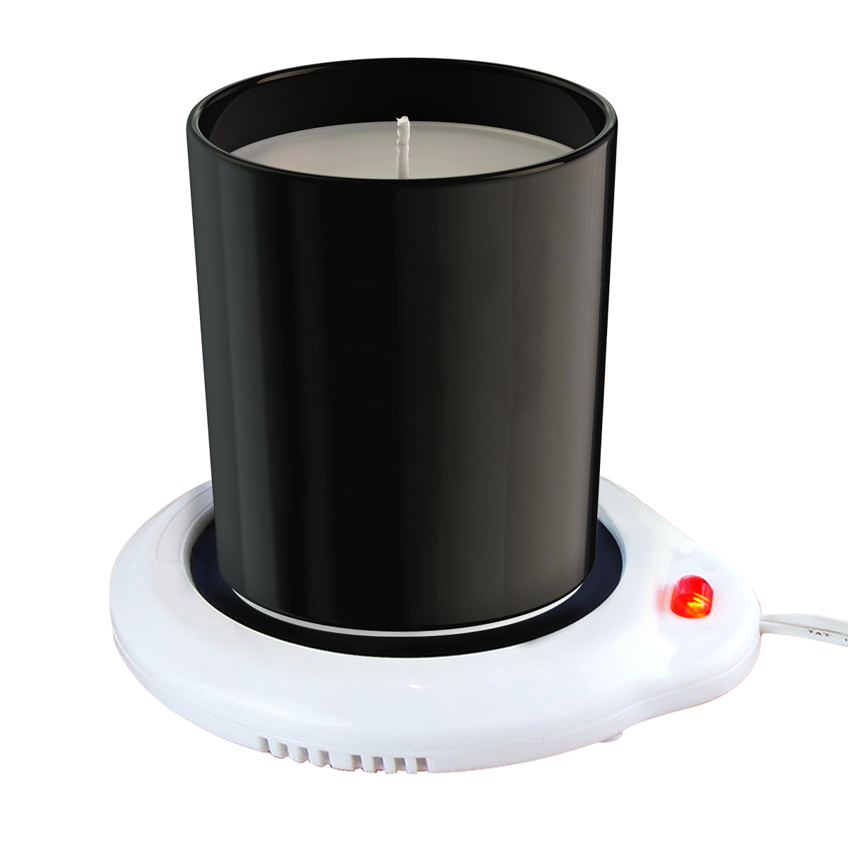 [REDshield] Desktop Cup Warmer, Electric Mug Beverage Warmer for Home or Office - Perfect for Coffee, Tea, Cocoa, Soup, Scented Candles or Wax