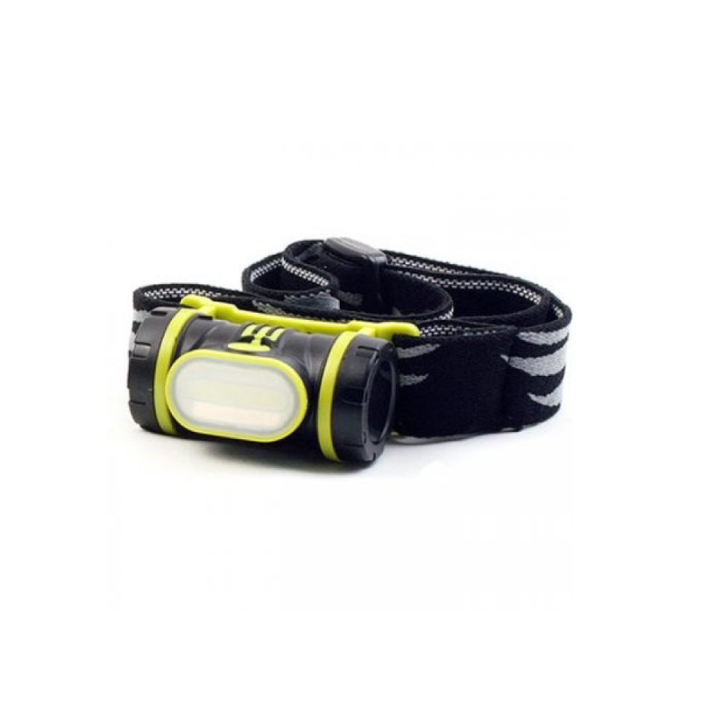 [N-Rit] Combo 2 Multifunctional Head Lamp Flashlight [150 Lumens] - 3 AAA Batteries Included!
