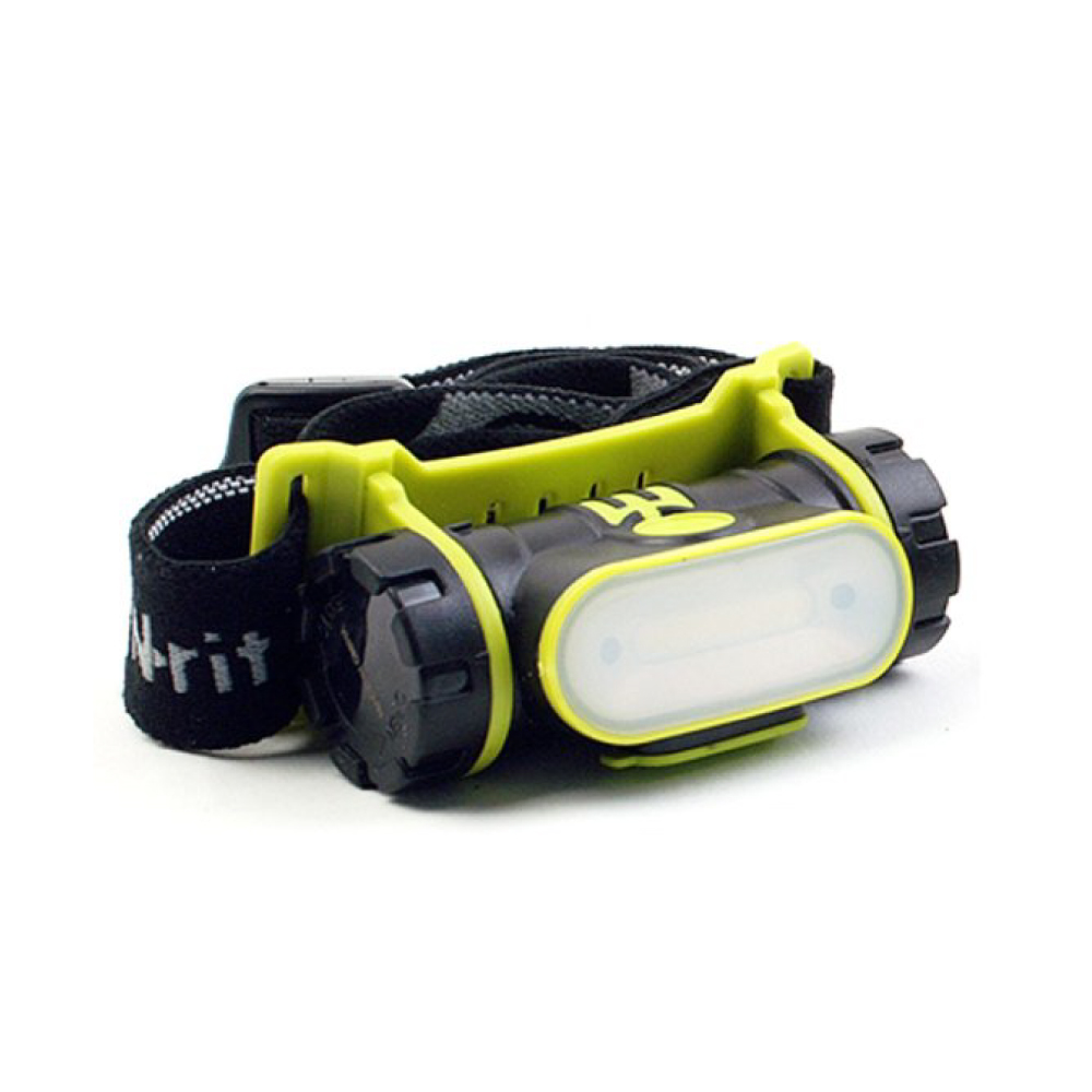 [N-Rit] Combo 2 Sensor Multifunctional Head Lamp Flashlight [150 Lumens] - On/Off Sensor Function & USB Rechargeable!