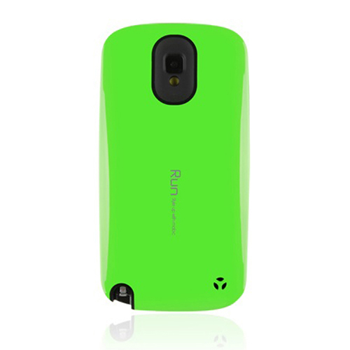 [REDShield] Lime Green/ Black Samsung Galaxy Note 3 Hard Case Cover on Skinny Shockproof Silicone Hybrid Case; Perfect fit as Best Coolest Design cases