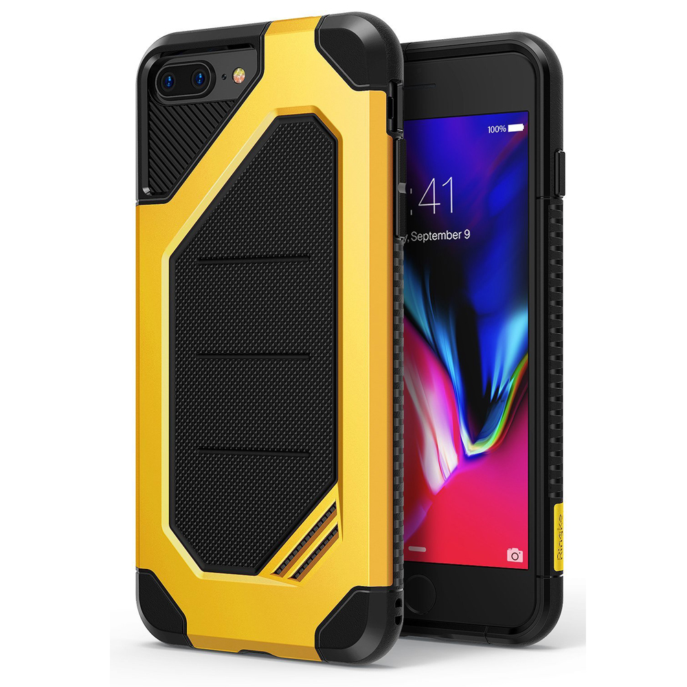 [Ringke] Apple iPhone 8 / 7 Case, [MAX] Advanced Heavy Duty Stylish Armor Shock Absorption Protection Cover [Bumblebee]