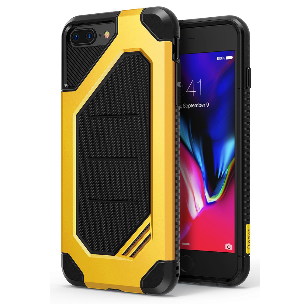 [Ringke] Apple iPhone 8 Plus / 7 Plus Case, [MAX] Advanced Heavy Duty Stylish Armor Shock Absorption Protection Cover [Bumblebee]