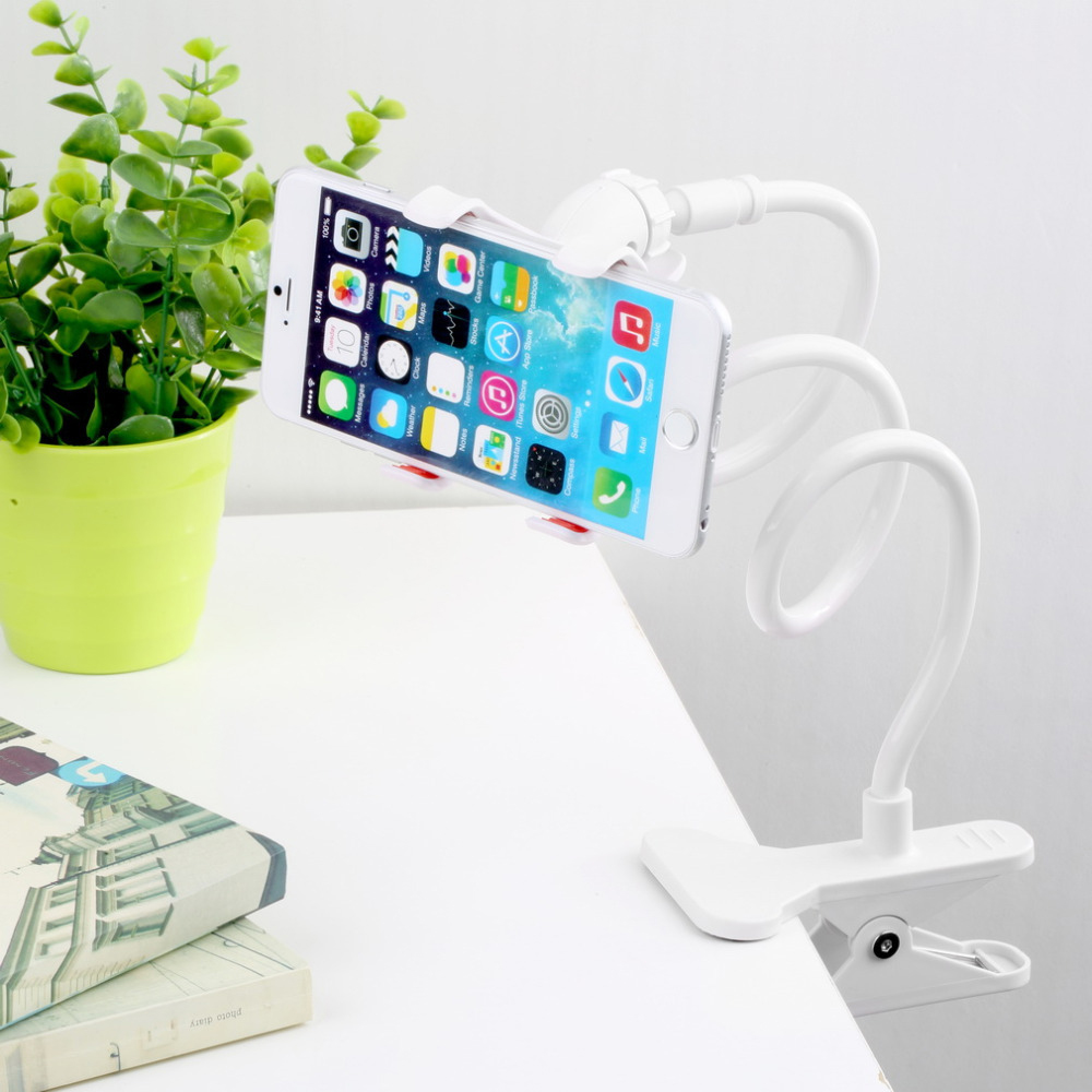 REDShield Lazy Bracket Flexible Holder Mount [Be lazy in bed or sofa while on your phone, no more phones falling onto face!]