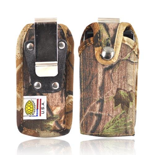 Original TurtleBack Premium Heavy Duty Nylon Case w/ Steel Belt Clip - Camouflage BM