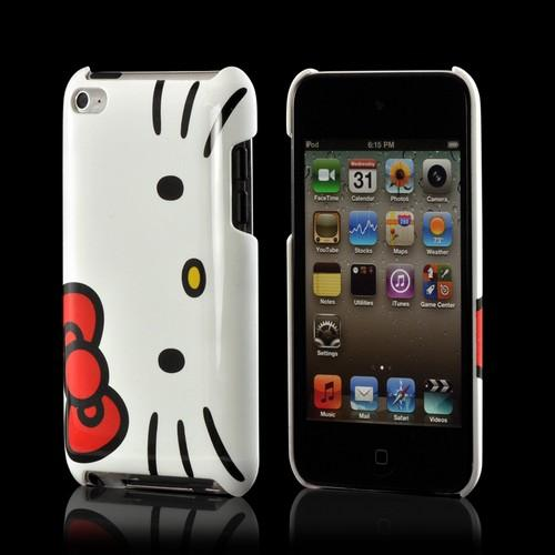 Hello Kitty White/ Red Hard Case for Apple iPod Touch 4