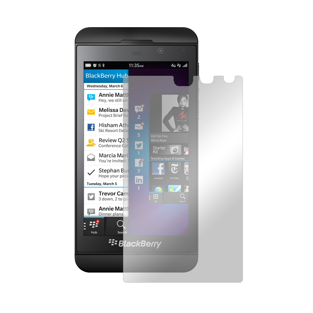 Clear  Premium Anti-Shock Screen Protector for Blackberry Z10