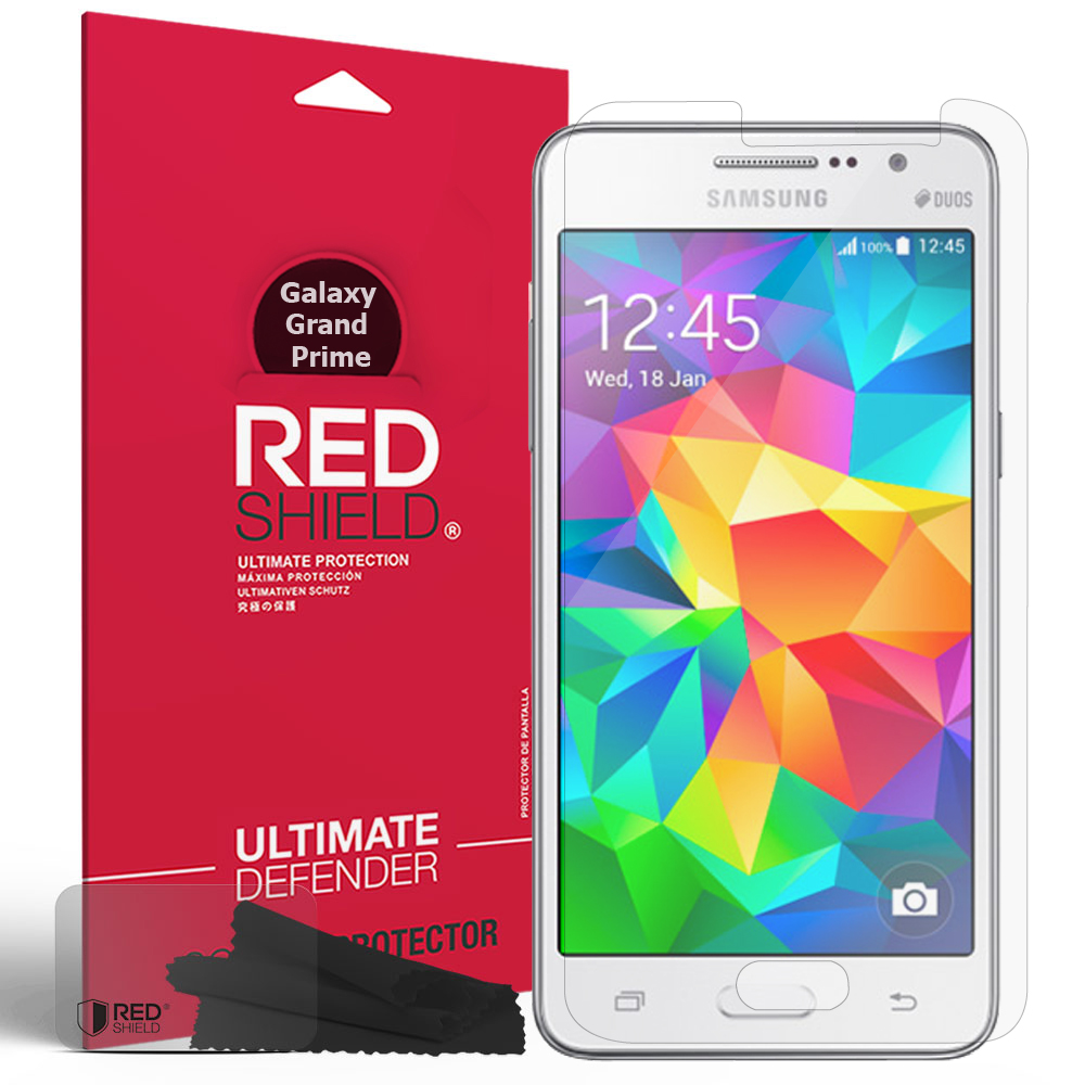 Samsung Galaxy Grand Prime Screen Protector, [Crystal Clear] HD Ultra Thin Scratch Resistant, Bubble Free, Protective Screen Guard Film