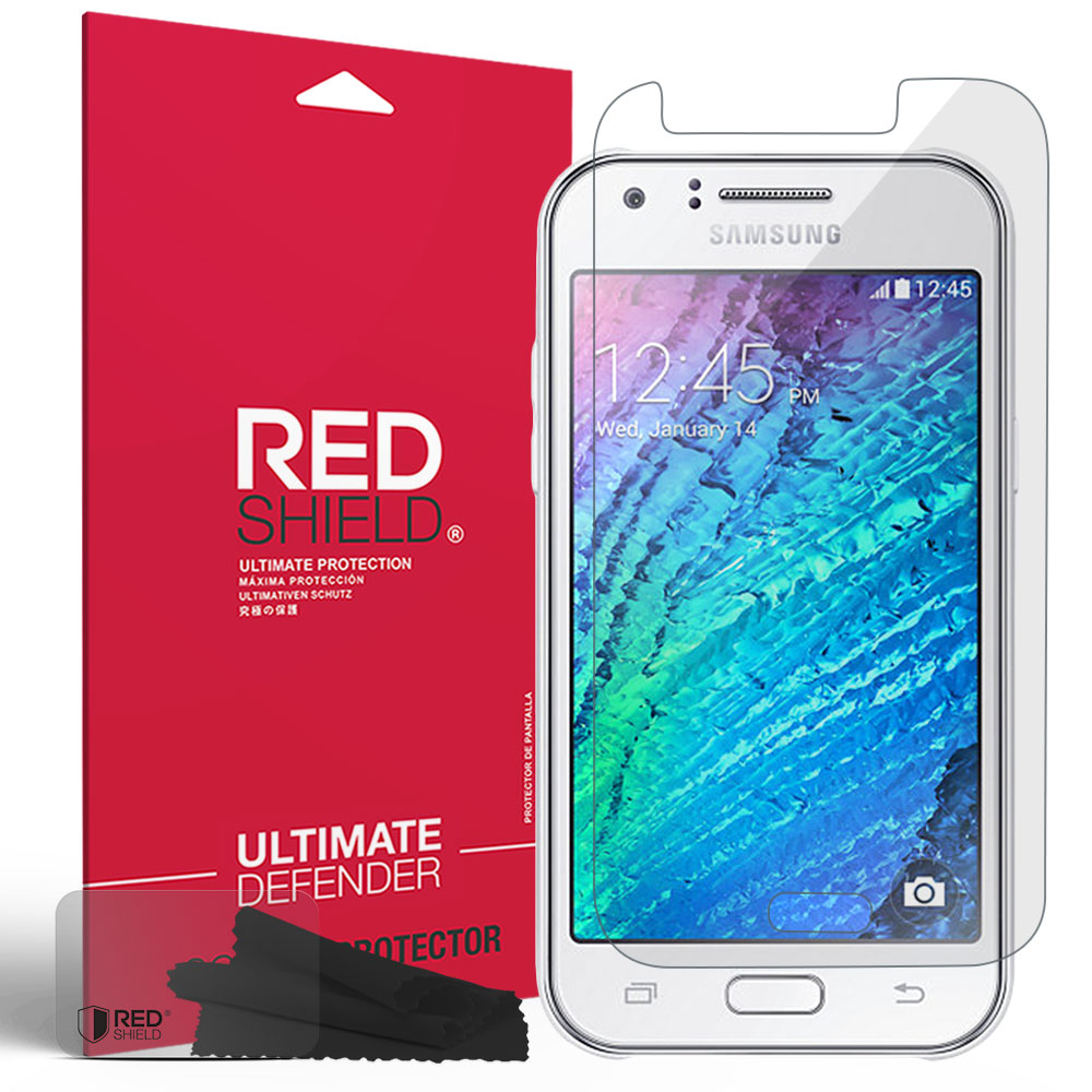 Samsung Galaxy J1 Screen Protector, REDshield [Crystal Clear] Anti-Scratch HD Screen Protector Film Guard