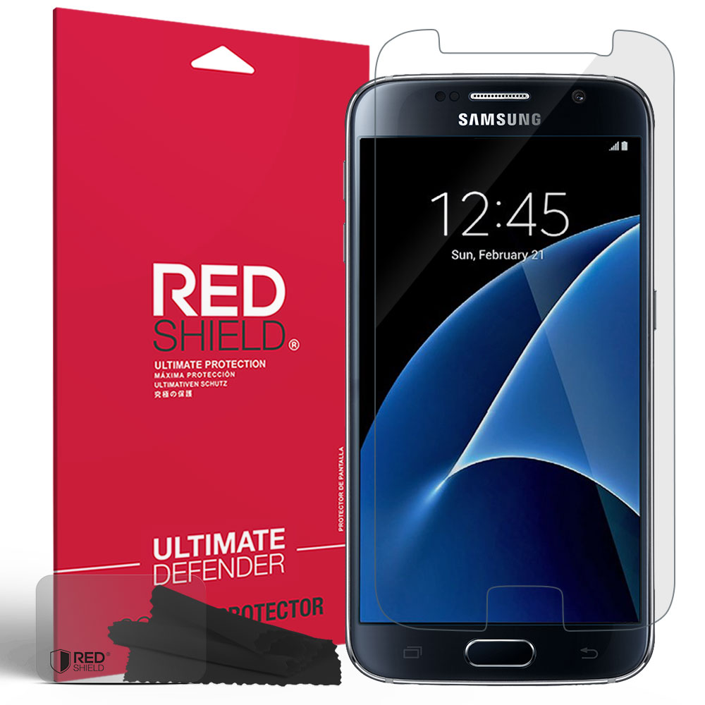 Samsung Galaxy S7 Screen Protector, REDshield [Crystal Clear] HD Ultra Thin Scratch Resistant, Bubble Free, Protective Screen Guard Film