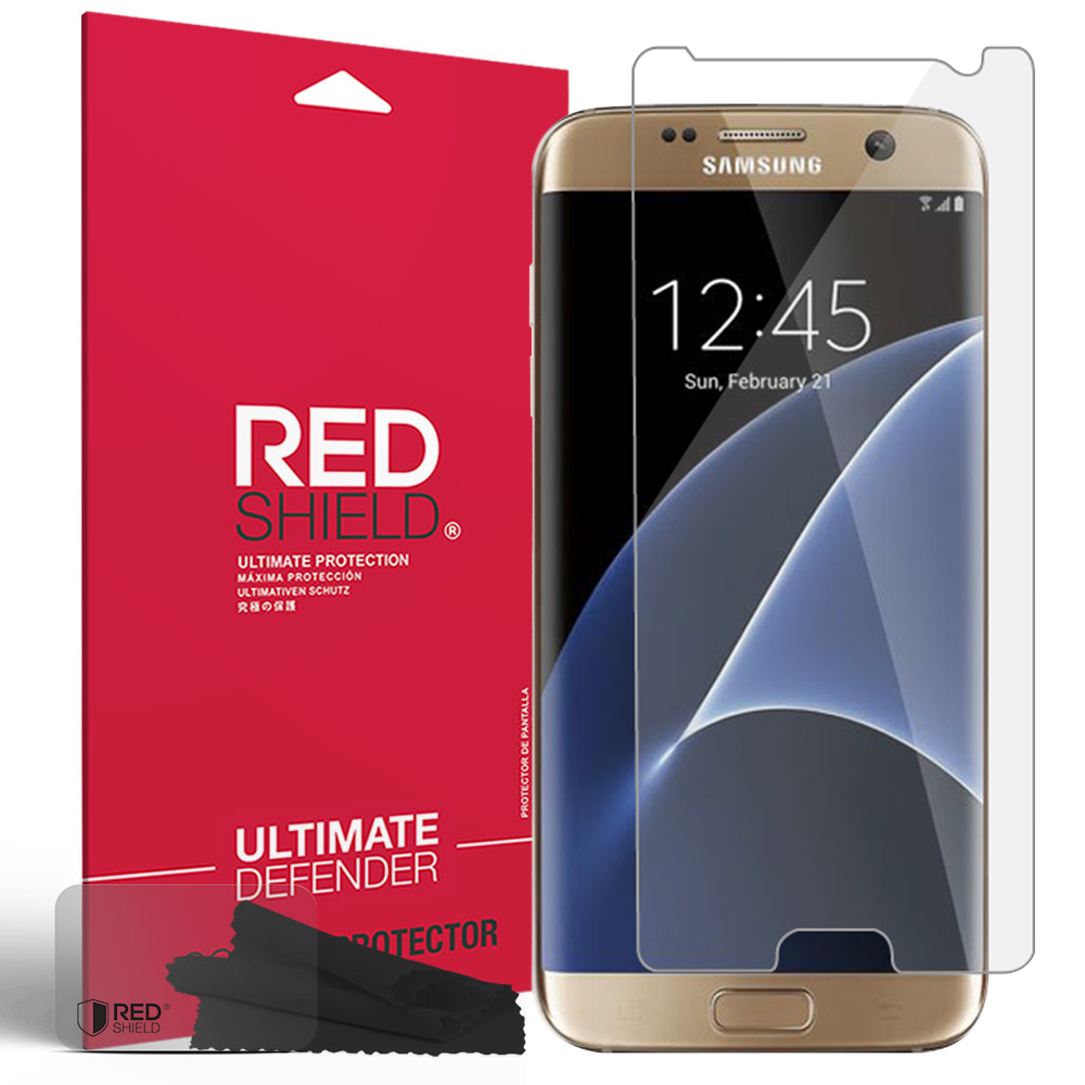 Samsung Galaxy S7 Edge Screen Protector, REDshield [Crystal Clear] HD Ultra Thin Scratch Resistant, Bubble Free, Protective Screen Guard Film