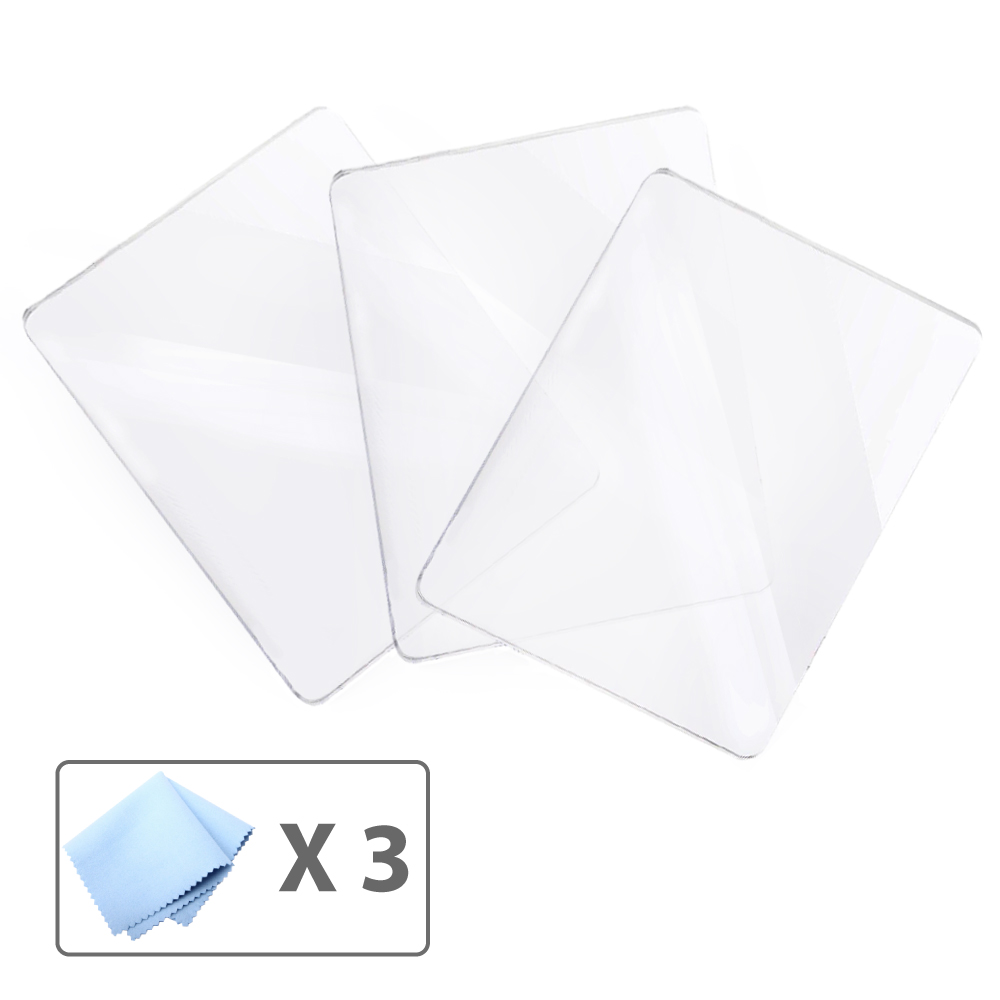 Premium Screen Protector Film - 3 Pack