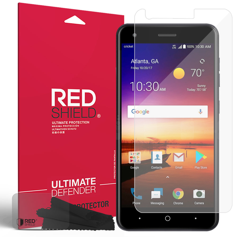 ZTE Blade X Screen Protector, [Clear] HD Ultra Thin Scratch Resistant, Bubble Free, Protective Screen Guard Film