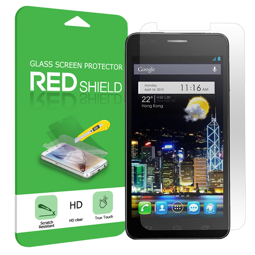 Alcatel Dawn / Acquire / Streak Screen Protector, [Tempered Glass] Ultimate Impact-Resistant Protective Screen Protector