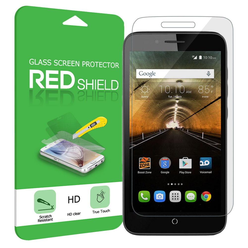 Alcatel OneTouch Elevate Screen Protector, Premium HD Protective [Tempered Glass] Screen Protector Guard