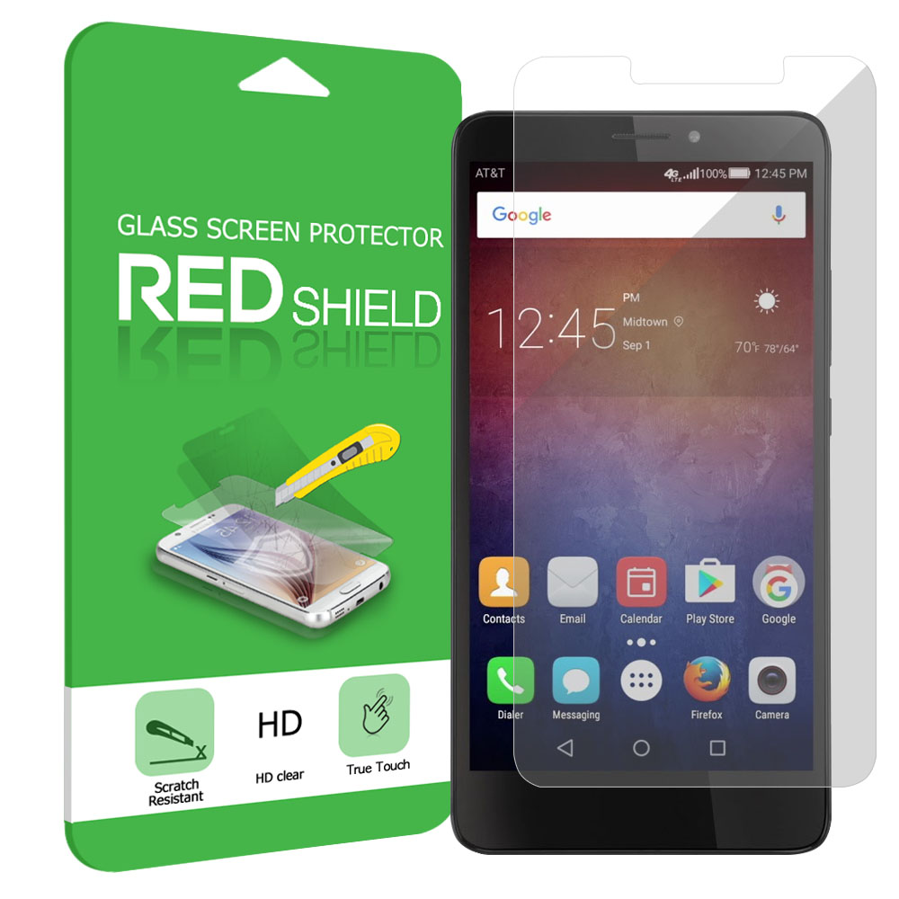 Huawei Ascend XT Screen Protector, [Clear] Ultimate Tempered Glass Impact-Resistant Protective Screen Protector