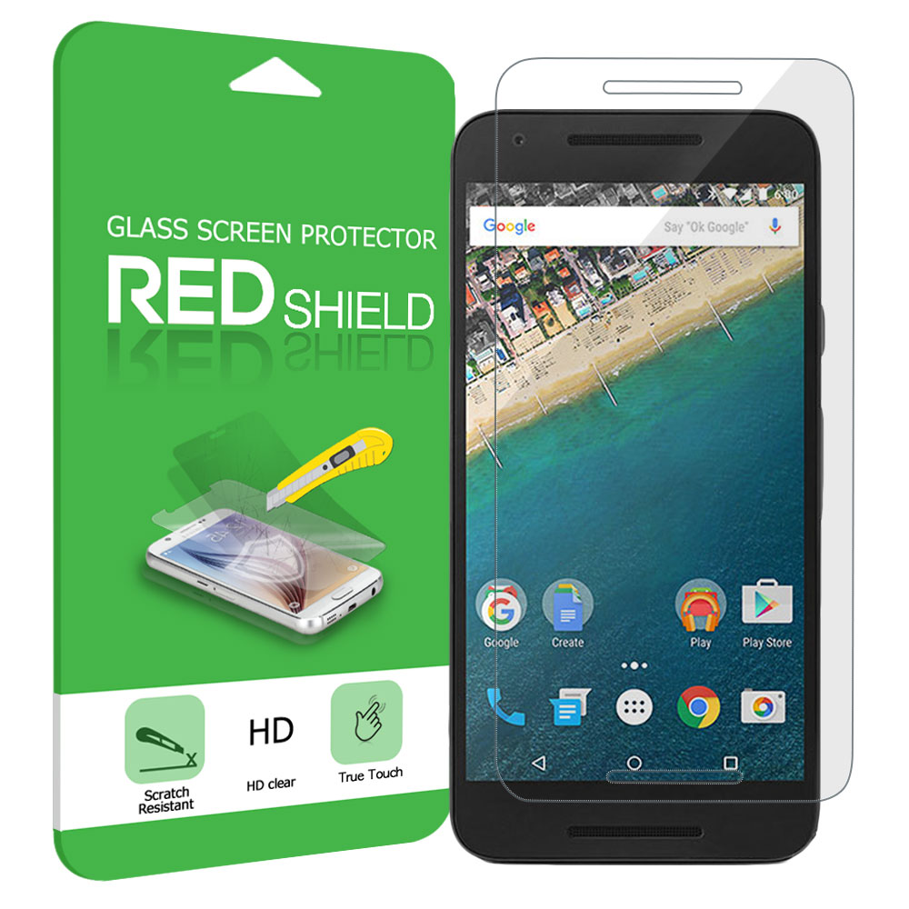 LG Google Nexus 5X Screen Protector,  [Tempered Glass] Ultimate Impact-Resistant Protective Screen Protector