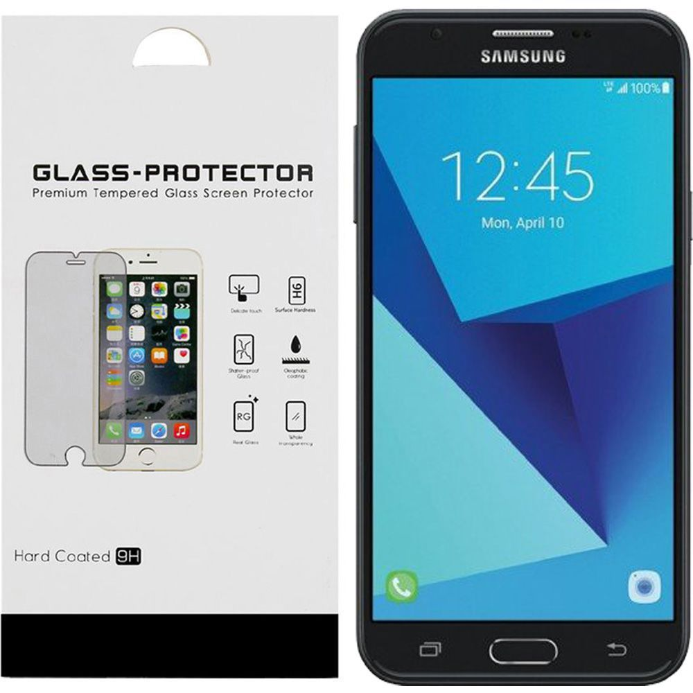 Samsung Galaxy J7 [2017]/ Galaxy J7 Perx/ J7 V/ Galaxy Halo Screen Protector, [Tempered Glass] Ultimate Tempered Glass Impact-Resistant Protective Screen Protector