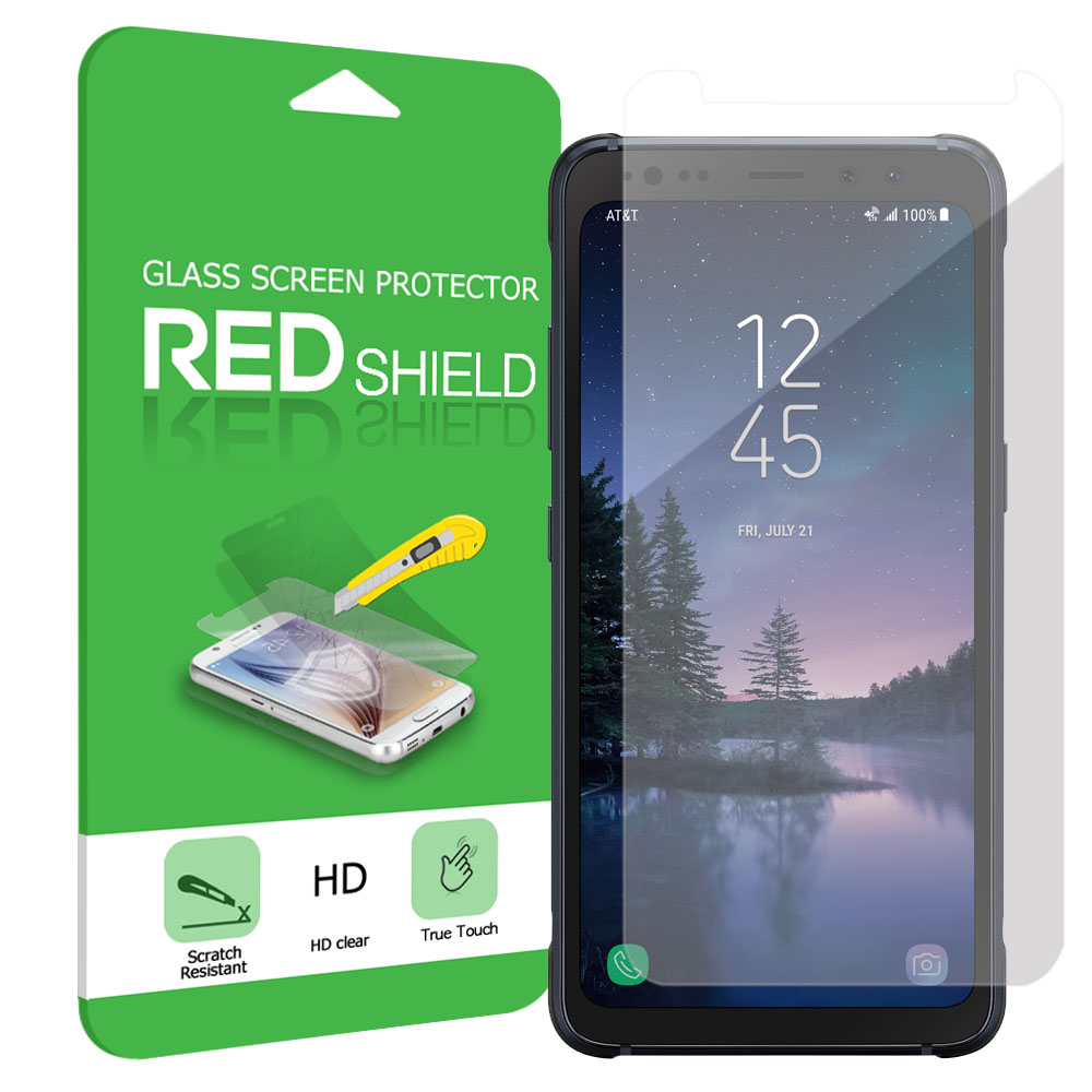 Samsung Galaxy S8 Active Screen Protector, [Tempered Glass] Ultimate Impact-Resistant Protective Screen Protector