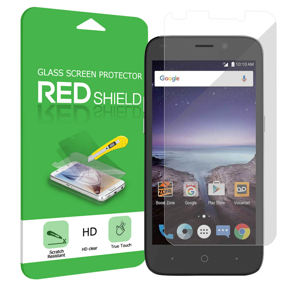 ZTE Prestige 2 Screen Protector, [Tempered Glass] Ultimate Tempered Glass Impact-Resistant Protective Screen Protector