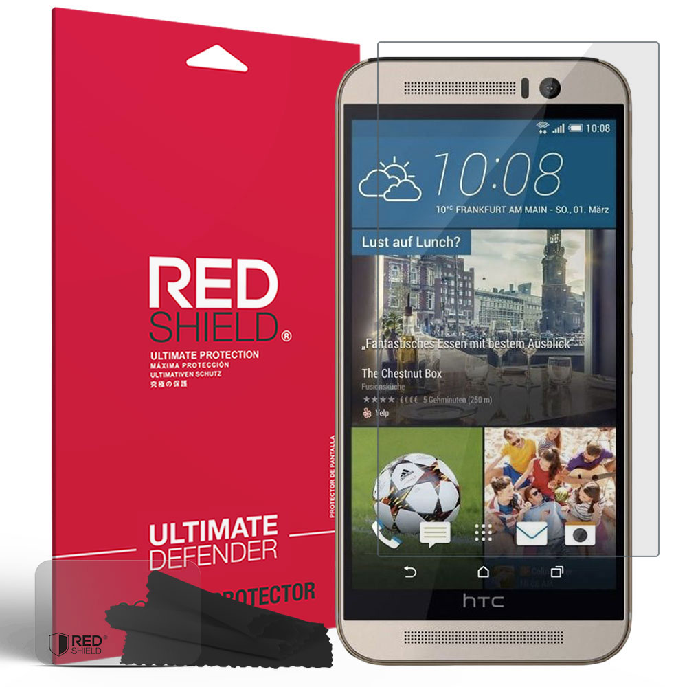 HTC One M9 Screen Protector,  [Anti-Scratch] HD Ultra Thin Scratch Resistant, Bubble Free, Protective Screen Guard Film