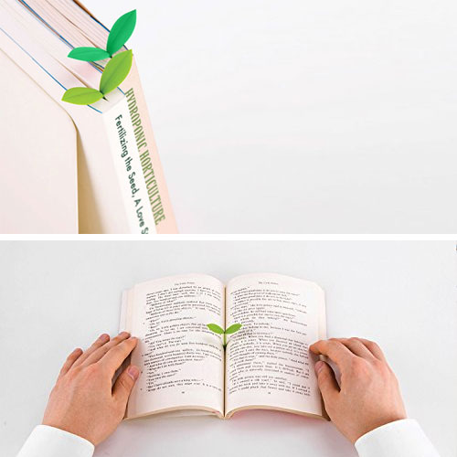 Fred & Friends Sprout, The Little Green Bookmark (6 Individual Sprouts in 3 Shades of Green)