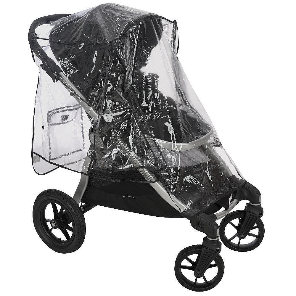 Baby Stroller Rain Cover - Waterproof Umbrella Stroller Wind, Dust, Shield Cover [Clear]