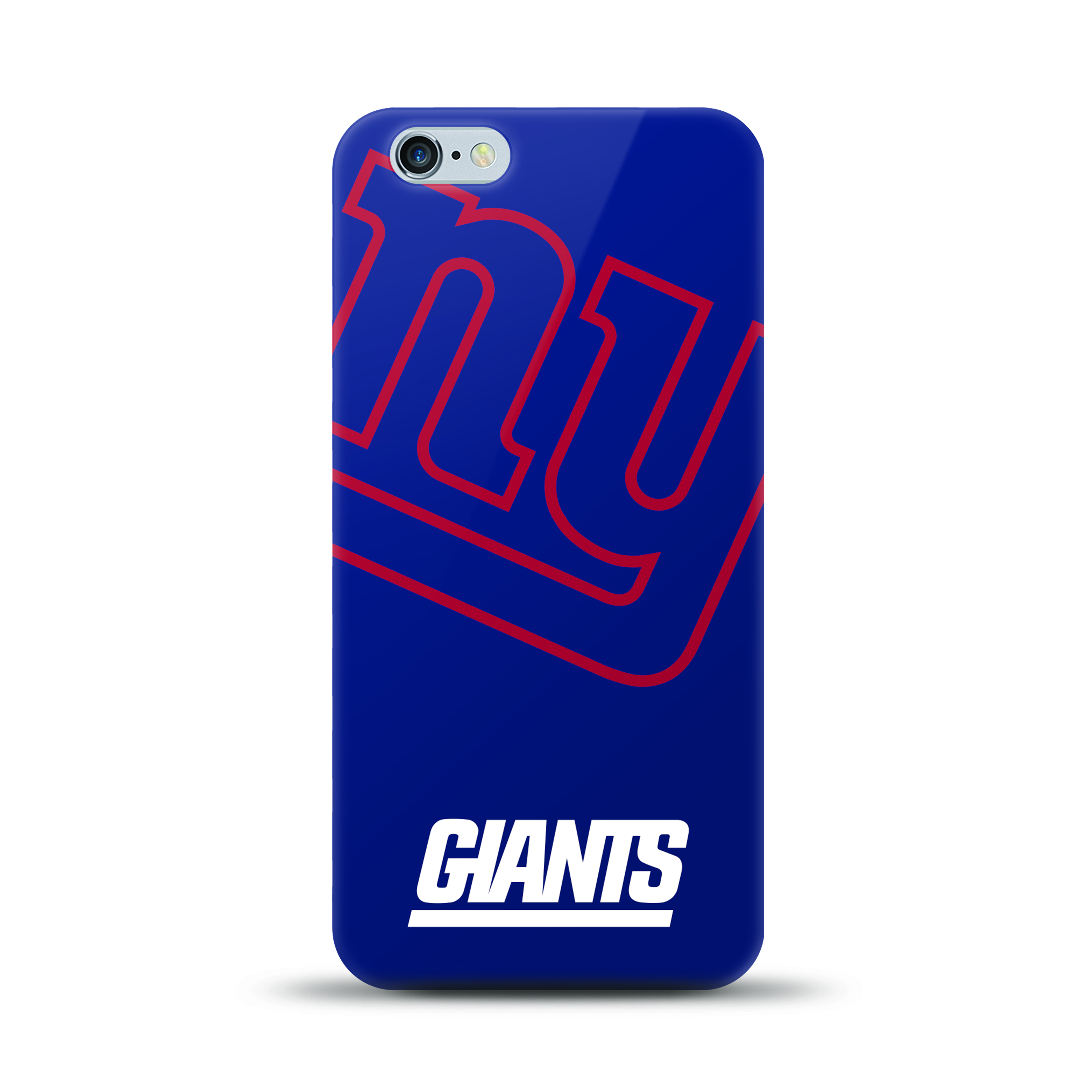 Apple iPhone 6 PLUS/6S PLUS (5.5 inch)Case, NFL Licensed [New York Giants] Protective Silicone TPU Case For Apple iPhone 6 PLUS/6S PLUS (5.5 inch)