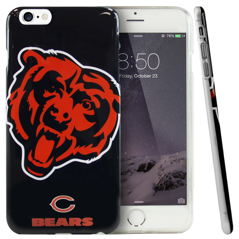 Apple iPhone 6 PLUS/6S PLUS (5.5 inch) Case, NFL Licensed [Chicago Bears] Protective Silicone TPU Case For Apple iPhone 6 PLUS/6S PLUS (5.5 inch)