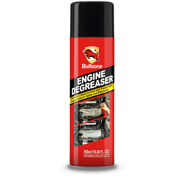 Bullsone Engine Degreaser - Removes Caked-on Dust And Grease On Engine Exterior Safely And Effectively!