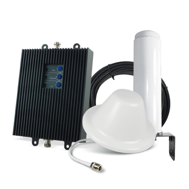 SureCall TriFlex-T | 3G/4G Tri-Band 65db Cellular Signal Booster Kit for Home/Office (up to 6,000 Square Feet) [ T-Mobile AWS ] - FCC Approved!