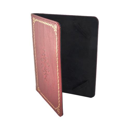 Original LightWedge Prologue E-Reader Cover Case, VR038-100-23 - Red Antique Book