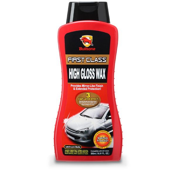 Bullsone First Class High Gloss Wax - Deep Gloss And Outstanding Durability Raises The Class Of Your Car!
