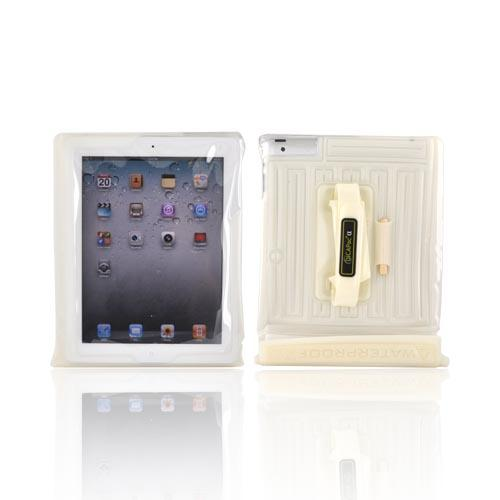 Original DICAPac Apple iPad (All Gen.) Waterproof Case w/ Handle & Stand, WP-i20 - Frost White