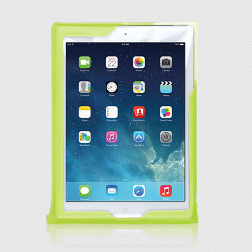 DiCAPac Waterproof Case for Apple iPad Series [Green] - Protect Your Tablet From Water Damage This Summer! WP-i20