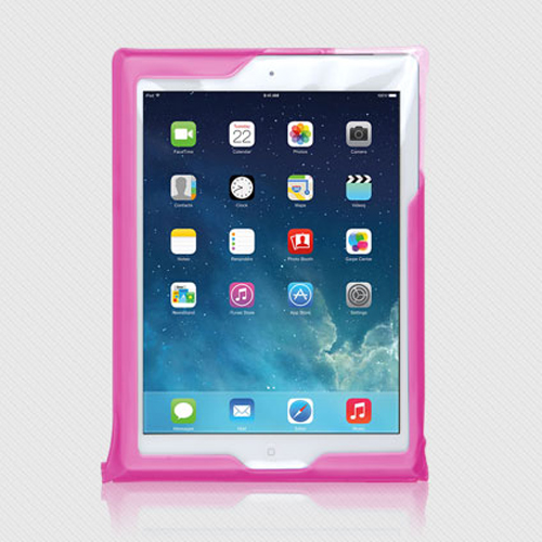 DiCAPac Waterproof Case for Apple iPad Series [Pink] - Protect Your Tablet From Water Damage This Summer! WP-i20